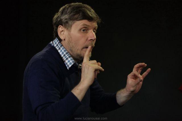 Сергей Тимофеев всегда готов к разговору со зрителями и актёрами.