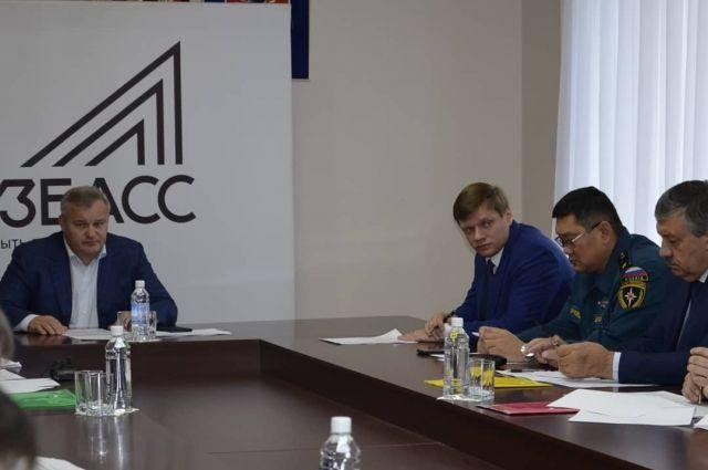 Совещание провел первый заместитель губернатора Вячеслав Телегин.