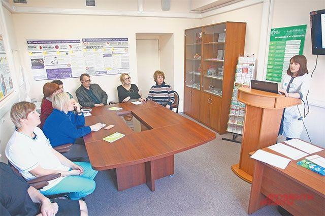 Формат лекции– «вопрос-ответ». Посетители вместе сдоктором обсуждают методы профилактики,  затем каждый задаёт вопросы.