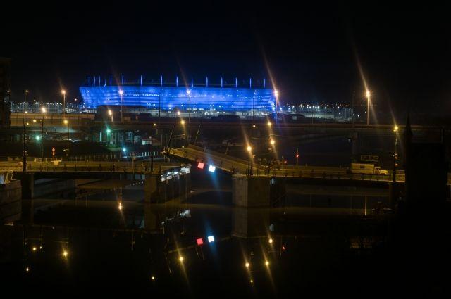 Два моста будут разведены до 05:00 4 октября