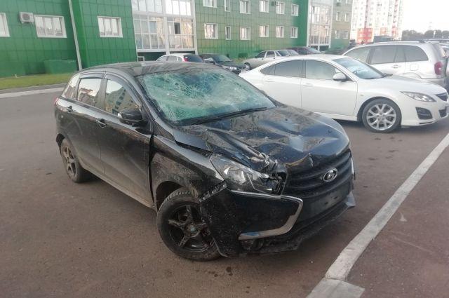 В Оренбурге обнаружена машина водителя, насмерть сбившего пешехода.