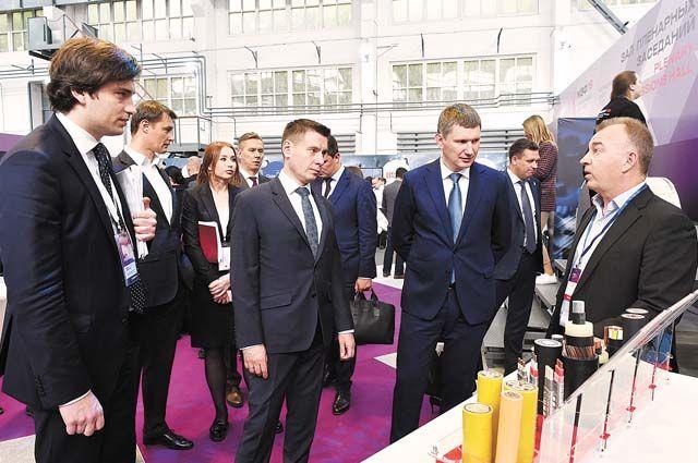 Производители представили свою продукцию на выставке, которая проходила во время форума.