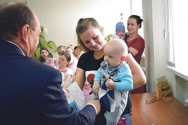 Подарочные наборы – в помощь родителям новорождённых.