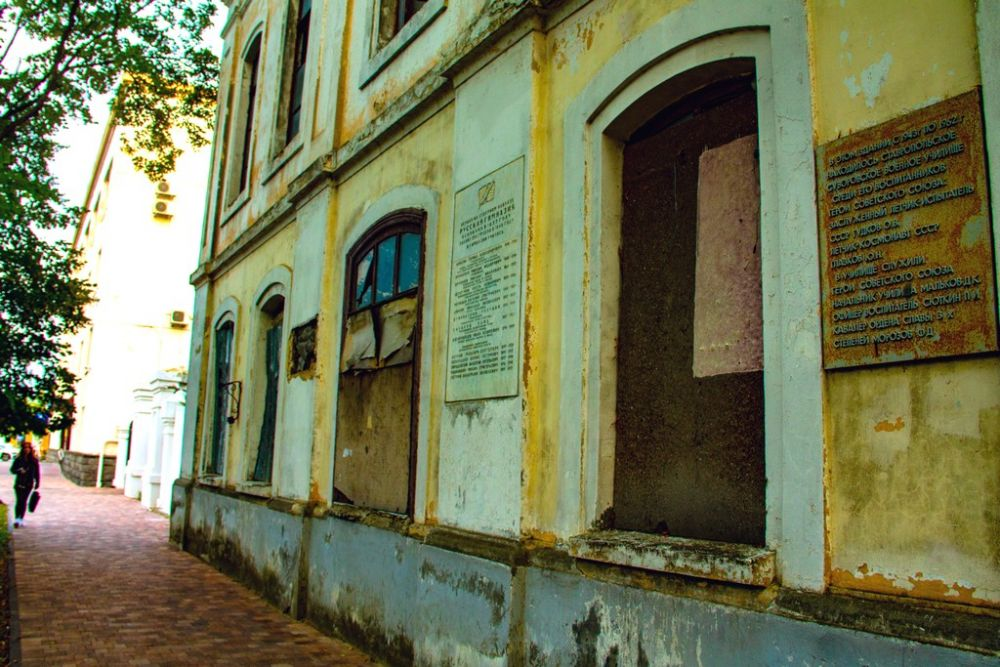 Здание первой на Кавказе гимназии, в котором 31 декабря 1917 г. была провозглашена Советская власть в Ставропольской губернии.