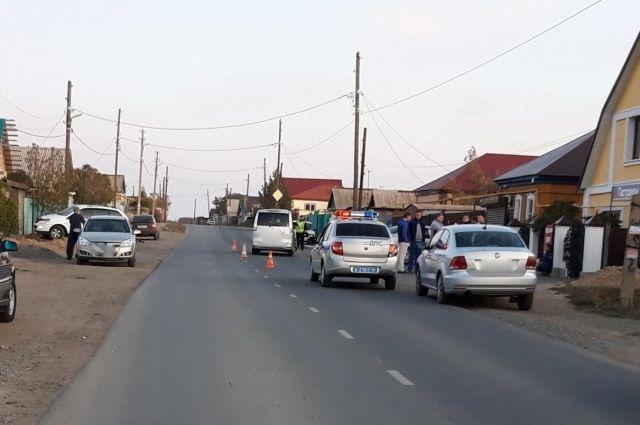 В Орске водитель иномарки сбил 11-летнюю школьницу.