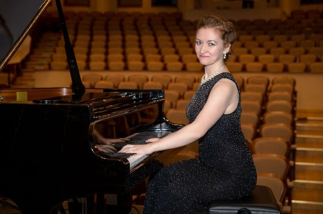 Елена Коземиренко после одного из концертов