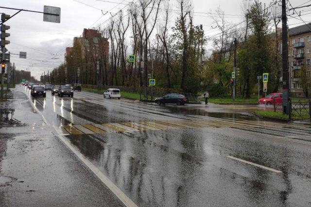 Они переходили дорогу по пешеходному переходу на зелёный свет.