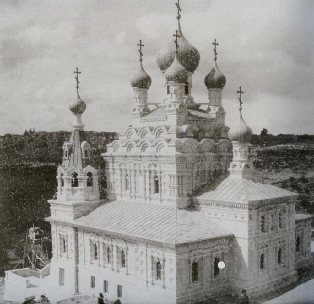 Русская православная церковь, построенная в Иерусалиме.