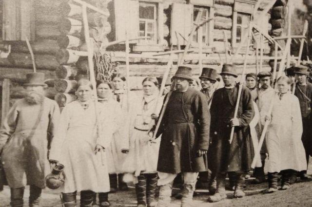 Черемисы-огнепоклонники из Казанской губернии