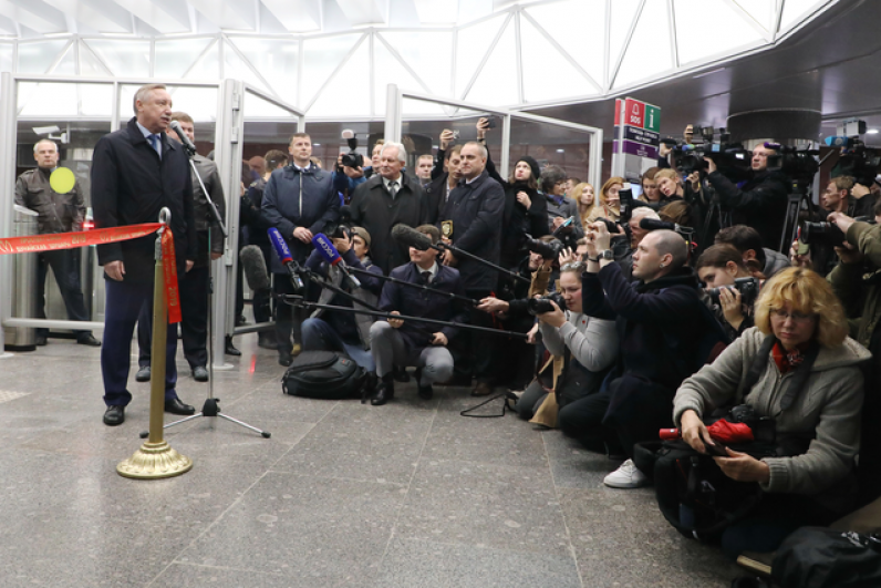 Новые станции улучшат транспортную доступность Фрунзенского, Пушкинского и Колпинского районов.