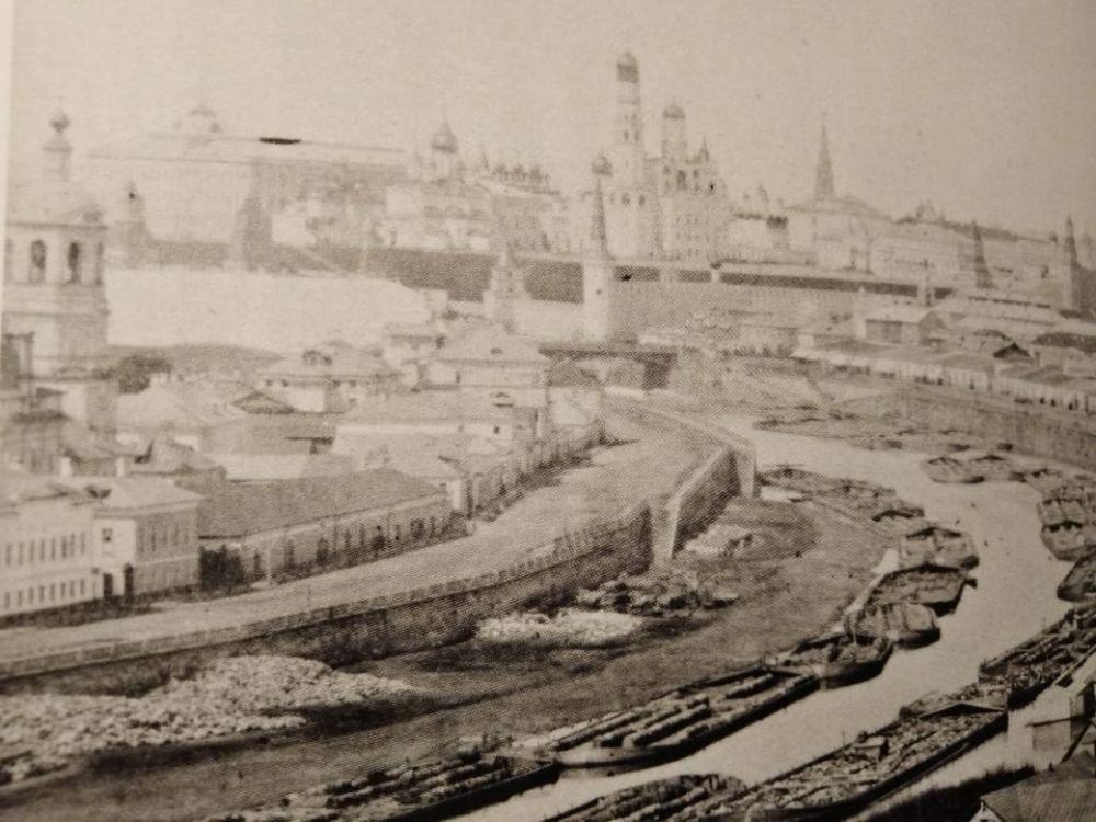 Вид Москвы 1872 года.