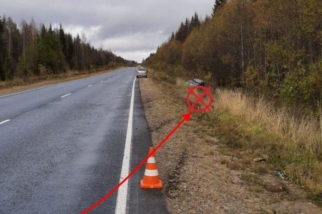 Водитель не справился с управлением.