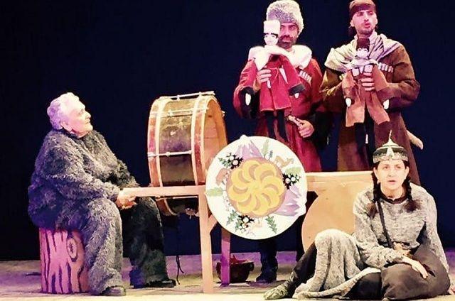 Источником вдохновения для авторов постановок в Черкесском драматическом театре становится народный эпос
