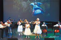 Концертную программу открыл струнный ансамбль «Шапоринские звёздочки».