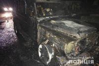 ЧП в Ровенской области: неизвестные подожгли авто депутат облсовета