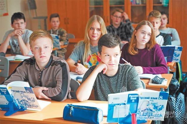 На уроках литературы у Татьяны Шишкиной все слушают внимательно.