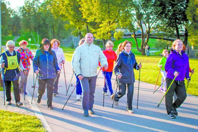 Жителей Красноярска приглашают присоединиться к Международному Дню ходьбы