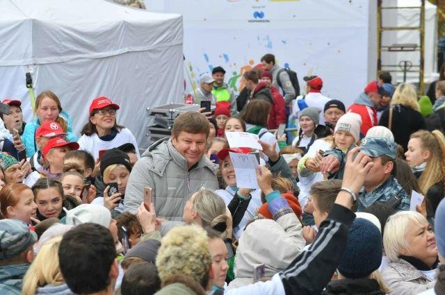 Около 10 тысяч человек приняли участие в Дне ходьбы в Ижевске