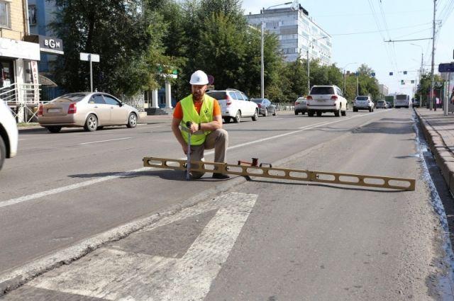 Красноярск прославился своим дорожным ремонтом.