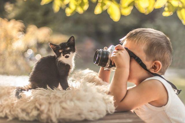 Пушистые питомцы становятся лучшими друзьями детей.