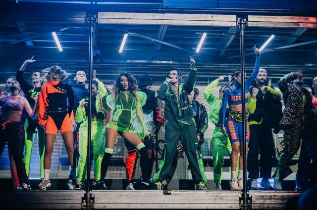 Шоу Vislovo: яркая дэнс-вечеринка от «Время и стекло» в Палаце спорта