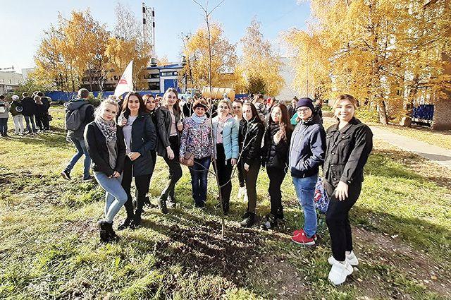 Молодые туймазинцы хотят видеть свой город зелёным и чистым.