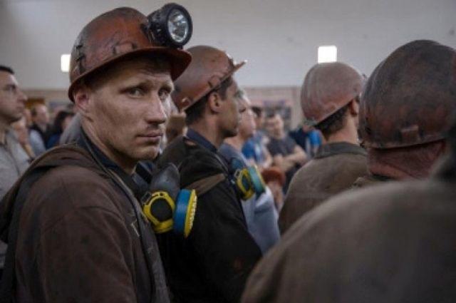 В Луганской области шахтеры устроили протест из-за долгов по зарплате