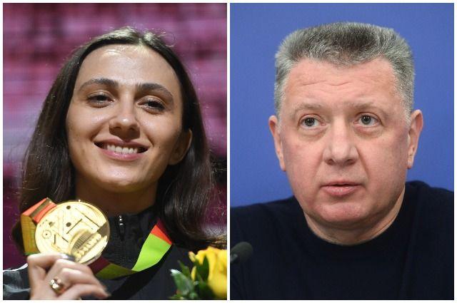 Мария Ласицкене и Дмитрий Шляхтин.