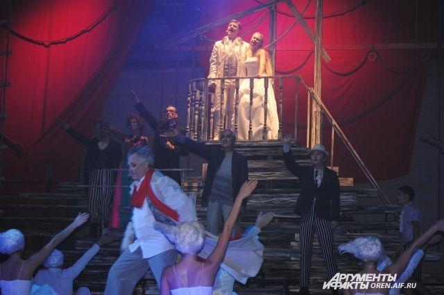 В Оренбургском театре музыкальной комедии состоялась премьера мюзикла «Алые паруса».