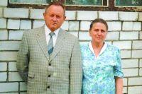 Яков Матис с женой Валентиной.