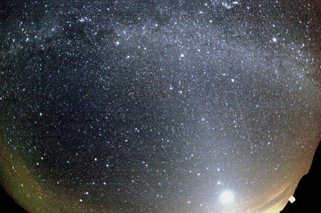 На Южном Урале можно будет увидеть метеоритный поток Дракониды
