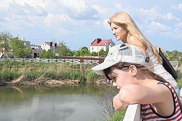 Пруд Вишнёвый был любимым местом отдыха тысяч жителей Дзержинского района.