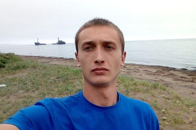 Подозреваемый в убийстве Вещагин Александр Олегович.
