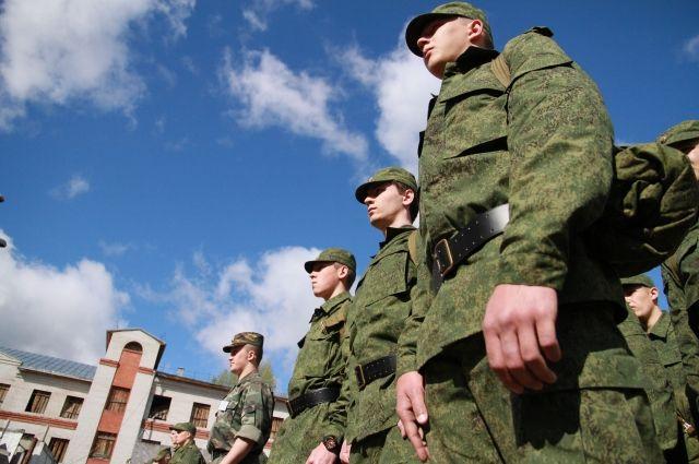 К нашим призывникам в воинских частях вопросов нет.