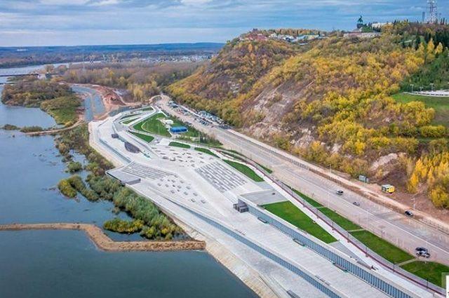 Набережная реки Белой - один из крупнейших «юбилейных» объектов.