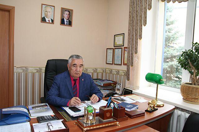 Гендиректор Нурфаяз Габдрахманов.