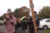 На похороны Регины Гагиевой, убитой бывшим мужем, пришли сотни человек