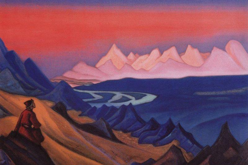 «Песнь о Шамбале » (1943).