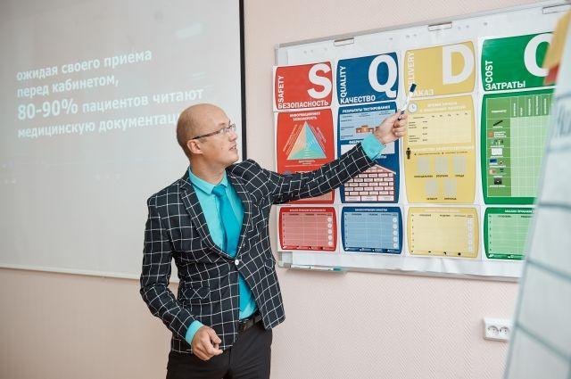 В Тюменском ГМУ ректорам медвузов представили центр бережливых технологий