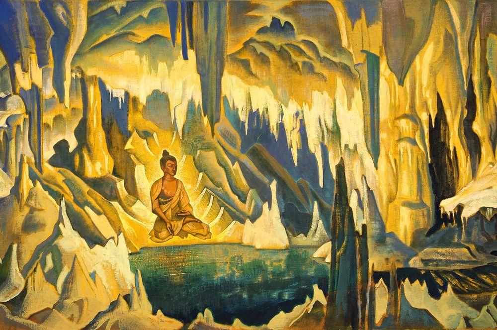 «Будда Победитель», серия «Знамена Востока» (1925).