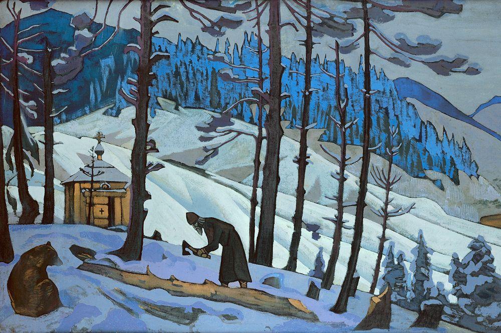 «Сергий-строитель » (1925).