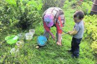 Если людям нравится работать на земле, у них и урожай неплох.