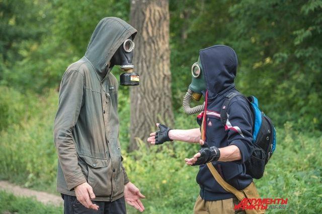 Жители Гая несколько дней подряд жалуются на неприятный запах.