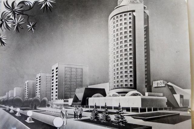 Один из нереализованных проектов Бориса Баранова.