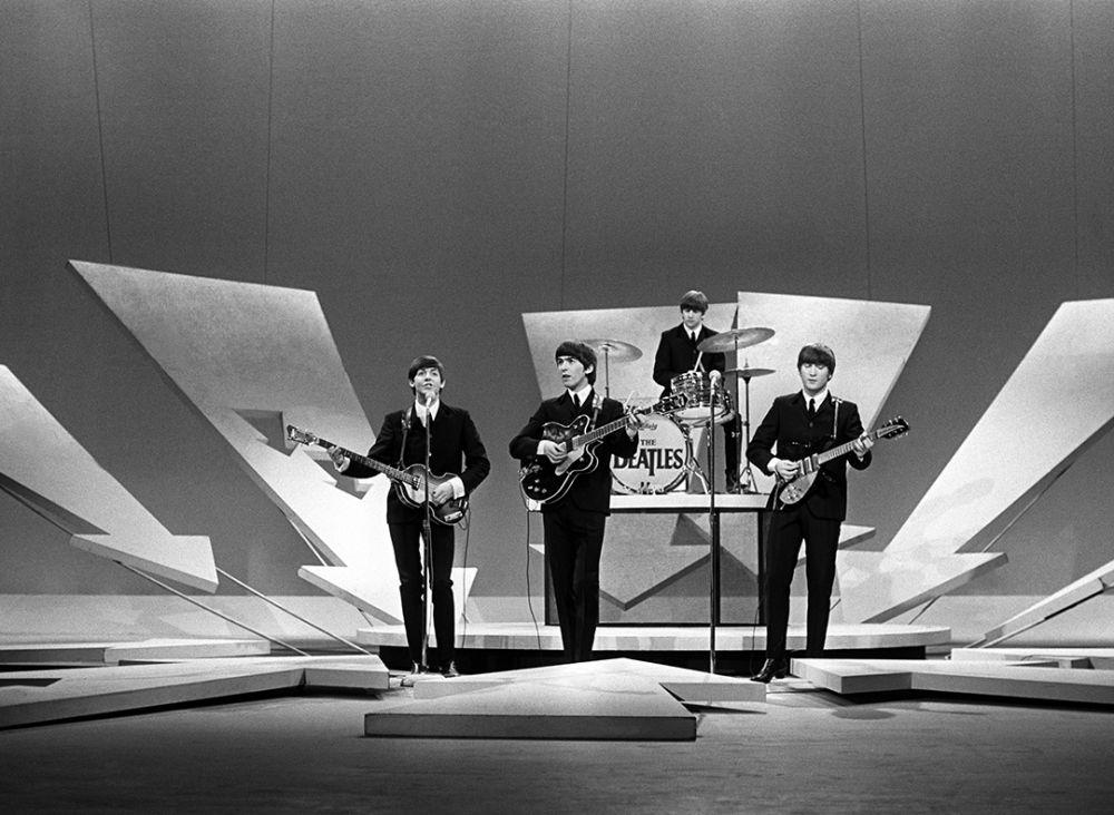 Первое появление на Шоу Эда Салливана. Нью-Йорк. 1964