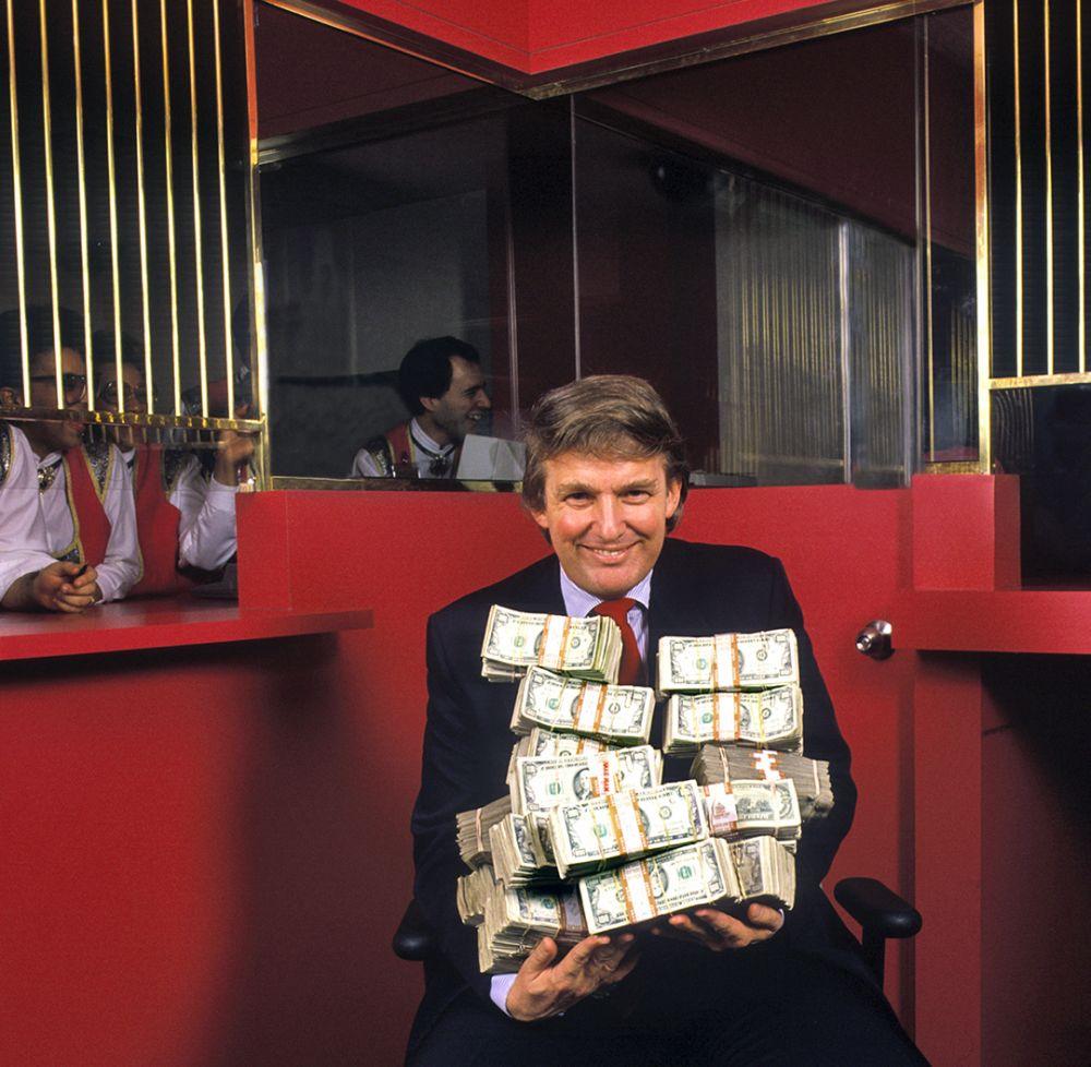 Дональд Трамп. Атлантик-Сити. Нью-Джерси. 1990