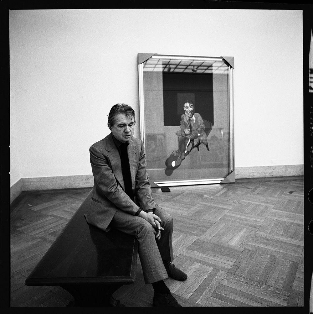Художник-экспрессионист Френсис Бэкон. Нью-Йорк. 1975