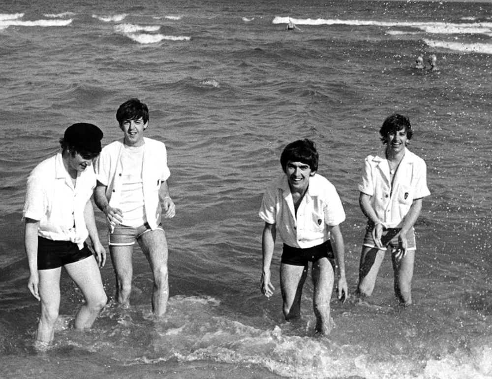 Первый американский заплыв «Битлз». Майями. 1964