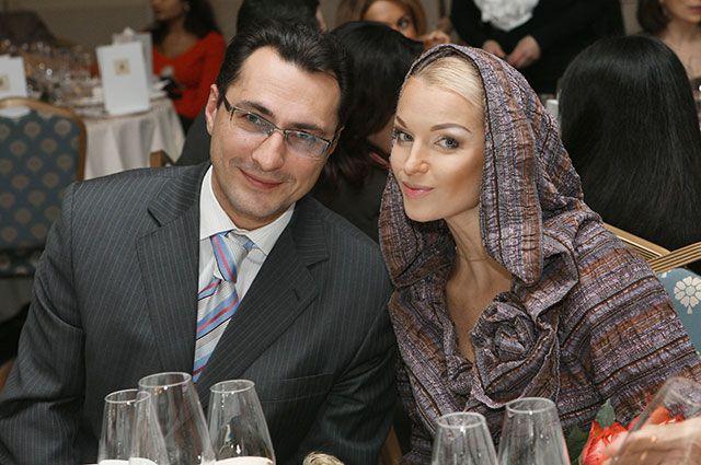 Игорь Вдовин и Анастасия Волочкова, 2007 г.