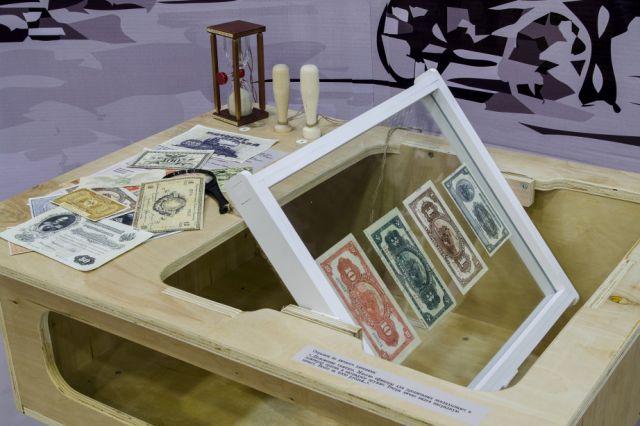 Увидеть подлинные купюры и ассигнации с XVIII века до наших дней можно в Музее денег.